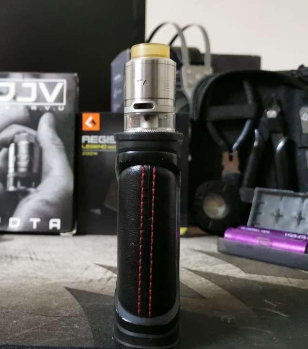 Vapeador Aegis Legend 200w black con RDTA Dejavu - 3
