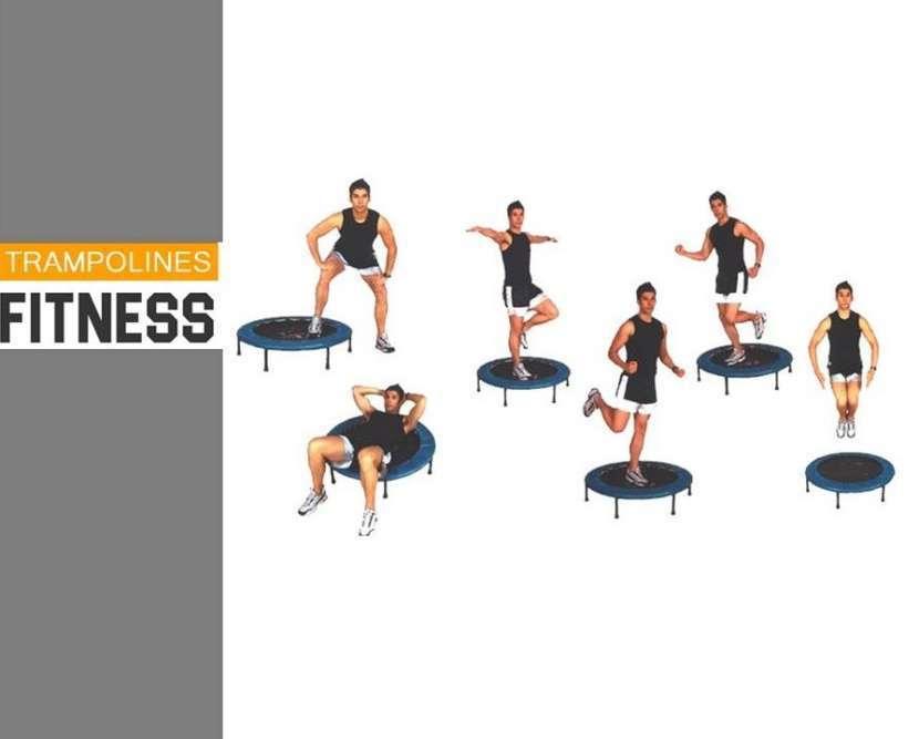 Cama elástica para gym 0.90 m- mini trampolín - 1
