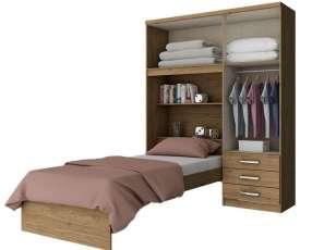 Ropero + cama cravo d134 henn rústico