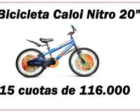 Bicicleta Caloi Nitro aro 20