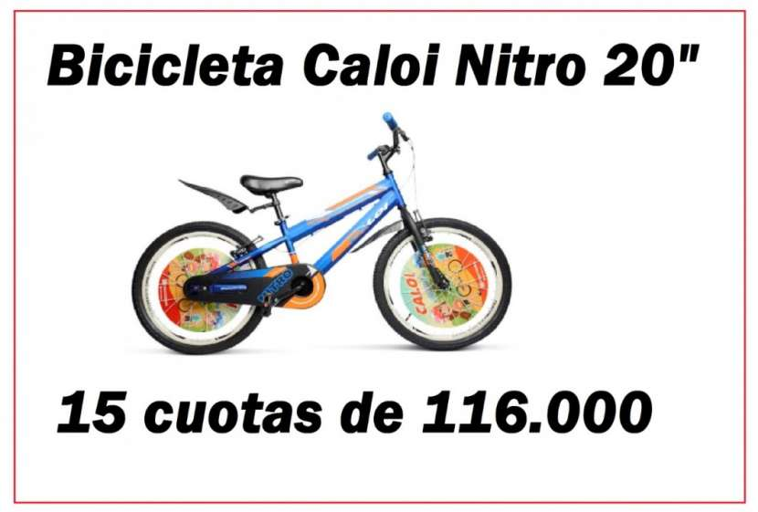 Bicicleta Caloi Nitro aro 20 - 0