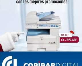 Fotocopiadora lanier aficio mp 161 171 201 301