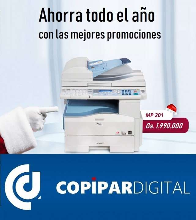 Fotocopiadora lanier aficio mp 161 171 201 301 - 0
