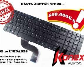 Teclado Acer 5810 5750/5810 series