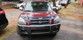 Hyundai Tucson 2005. Bordo. Diesel 2.0 4x4
