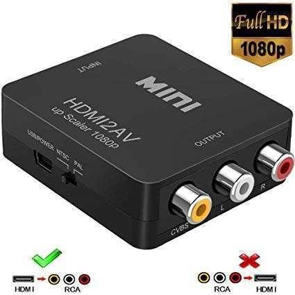 Conversor HDMI a AV - 0