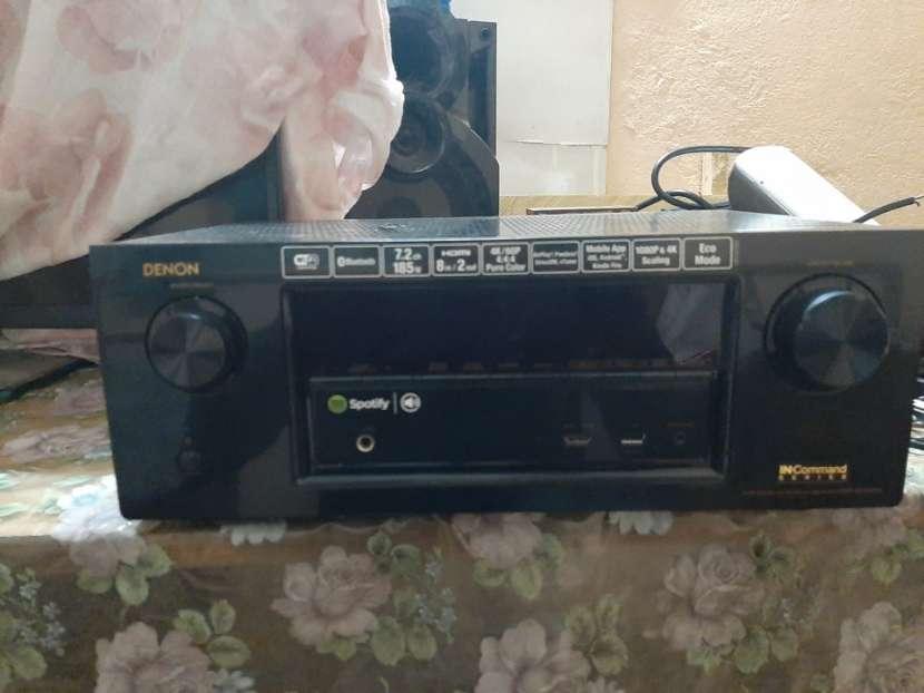 Receiver amplificador de audio denon 7.1 - 0