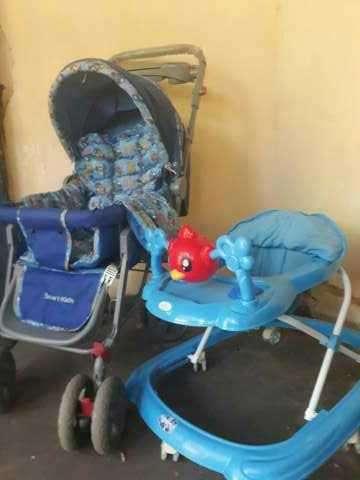 Carrito y andador para bebé - 0