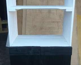 Mueble para horno y microondas