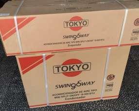 Aire acondicionado Tokyo 18.000 btu gas ecológico nuevo en caja