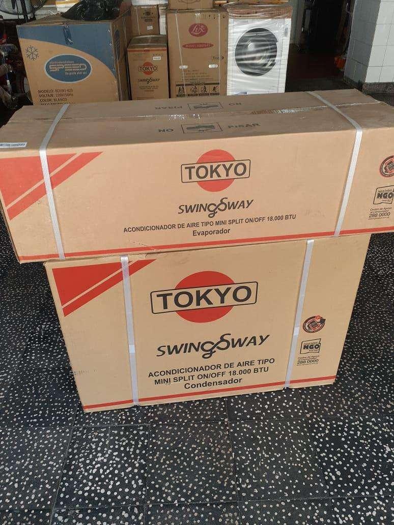 Aire acondicionado Tokyo 18.000 btu gas ecológico nuevo en caja - 0