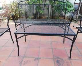Juego de sillón para jardín