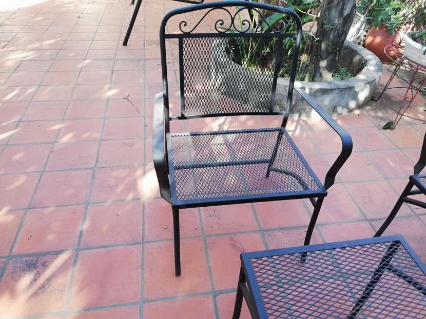 Juego de sillón para jardín - 1