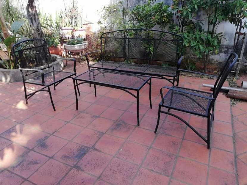 Juego de sillón para jardín - 2