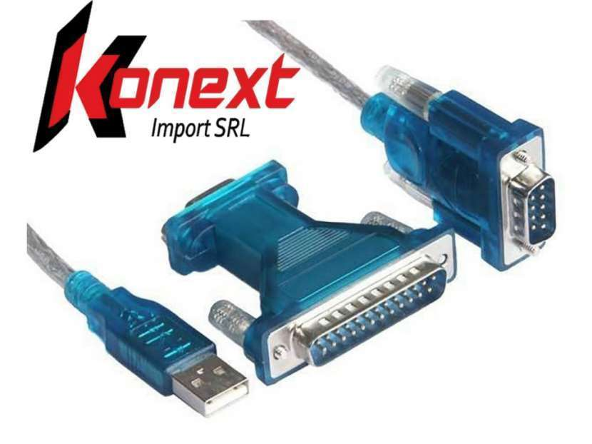 Cable serial paralelo a USB - 1