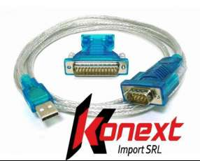 Cable serial paralelo a usb