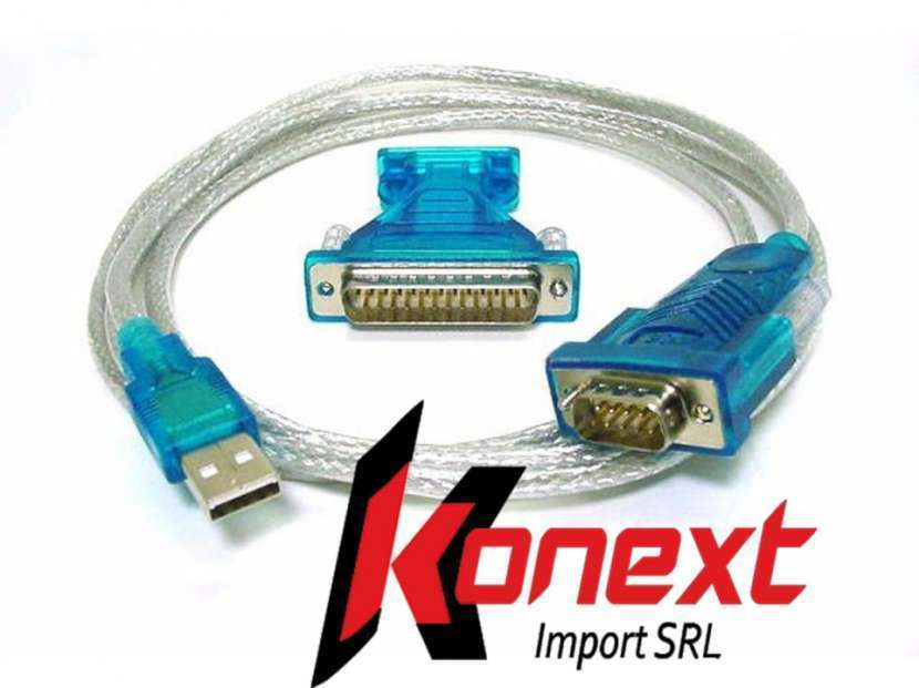 Cable serial paralelo a USB - 0