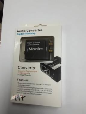 Conversor de audio digital a analógico