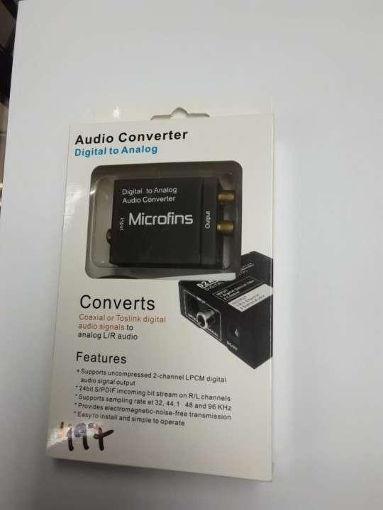 Conversor de audio digital a analógico - 0