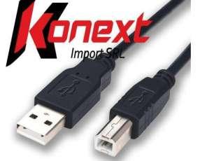 Cable usb para impresora hp/ epson/ brother