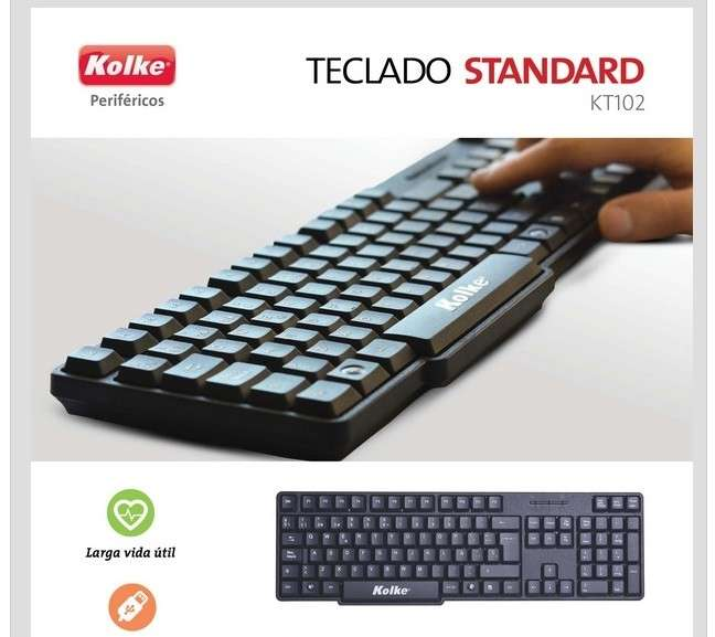 Teclado Kolke - 0