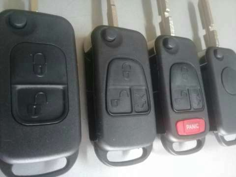 Carcasa de llave Mercedes Benz - 2