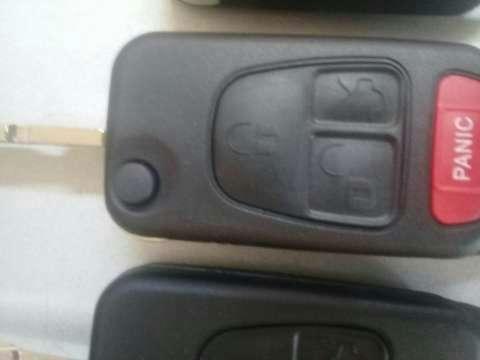 Carcasa de llave Mercedes Benz - 4