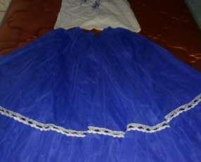 Pollera de danza Paraguaya