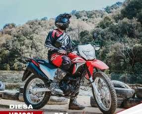 Moto Honda XR 190 L