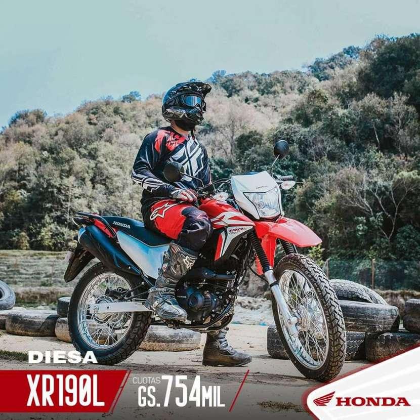 Moto Honda XR 190 L - 0