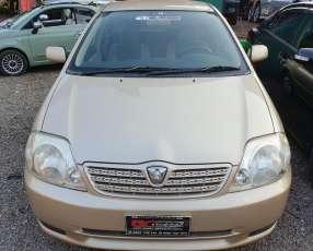 Toyota allex 2002 motor de bajo consumo 1500cc vvt-i