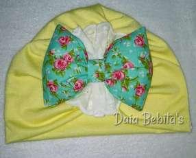 Turbantes para bebés