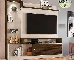 Mueble para tv hasta 55 pulgadas
