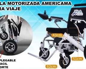 Silla de ruedas motorizada para viajes