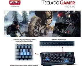 Teclado Gamer para computadora