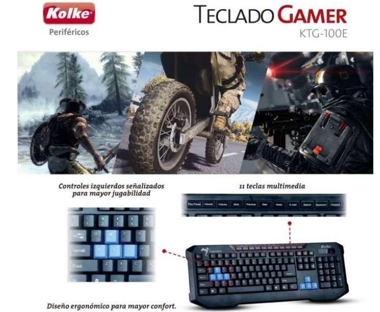 Teclado Gamer para computadora - 0