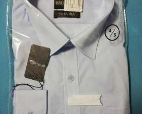 Camisa Color Celeste
