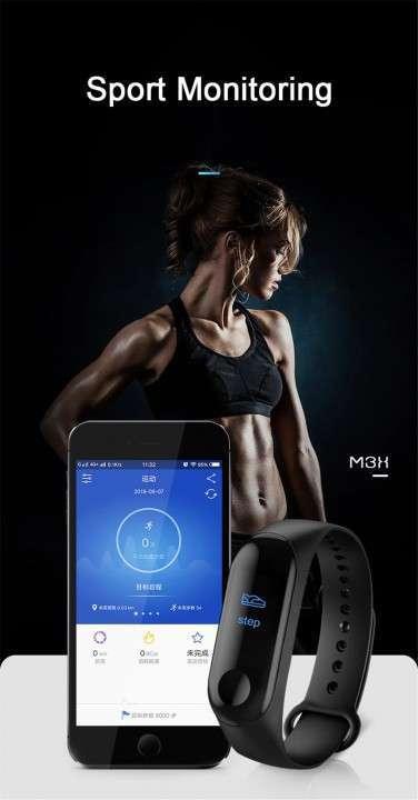 Pulsera Smart Fitness Color M3 Pro - 4
