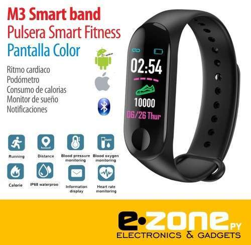 Pulsera Smart Fitness Color M3 Pro - 0