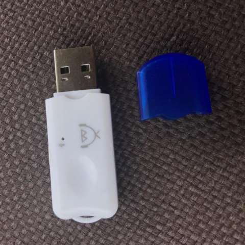 Adaptador receptor Bluetooth de audio