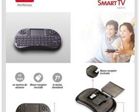 Teclado p/Smart TV Inalámbrico