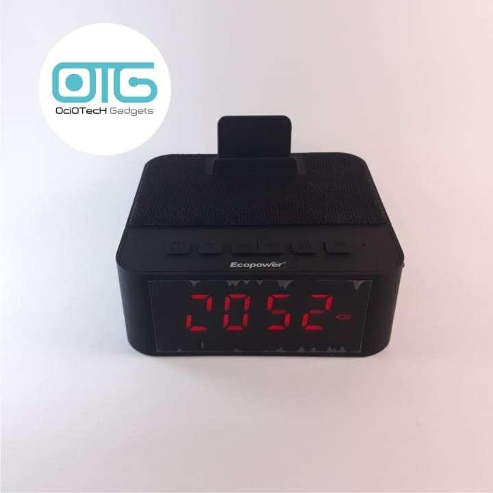 Reloj despertador con parlante -bluetooth - 1