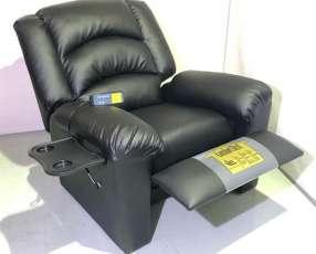 Sillón reclinable con programas de masaje
