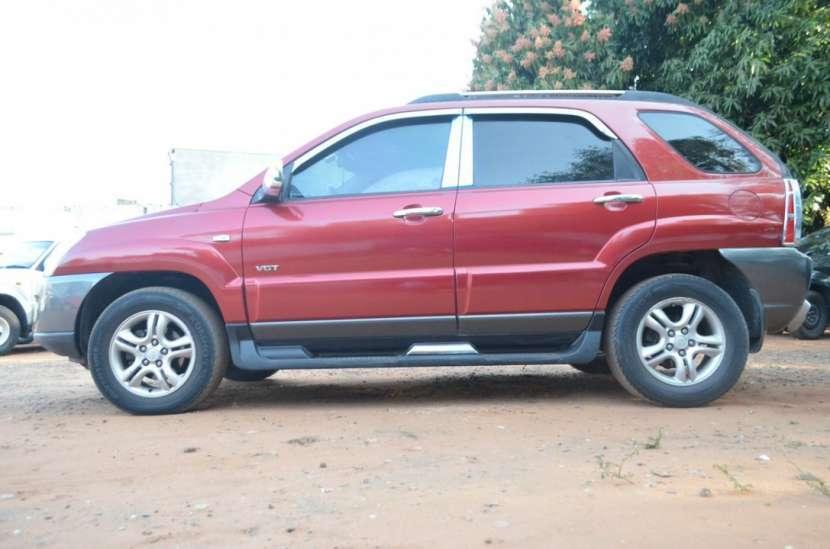 Kia Sportage 2006 bordo full recien importado recibo usado - 5