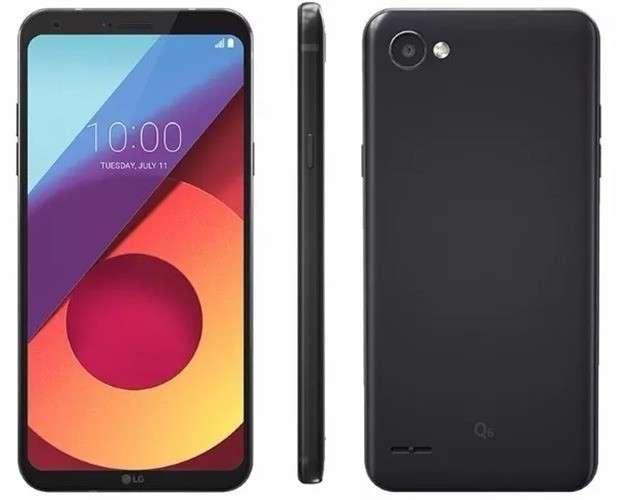 LG Q6 de 32 gb negro - 1
