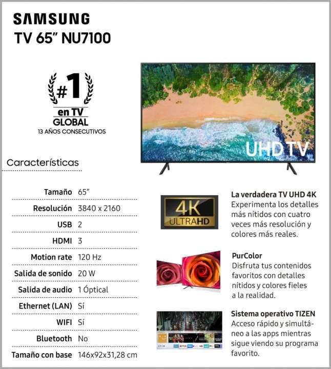 TV UHD 4K Smart Samsung de 65 pulgadas - 1