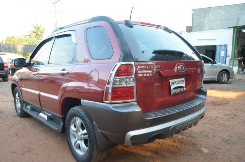 Kia Sportage 2006 bordo full recien importado recibo usado - 3