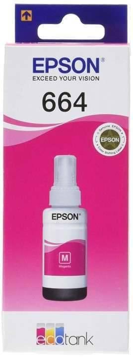 Botella de tinta Epson T664 Magenta