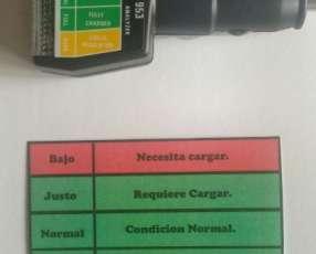 Analizador de batería de coche