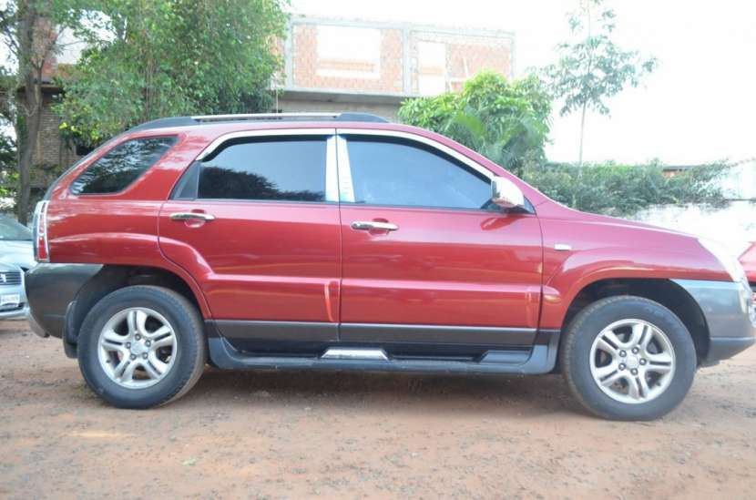 Kia Sportage 2006 bordo full recien importado recibo usado - 4
